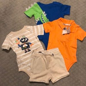 Boy onsie set